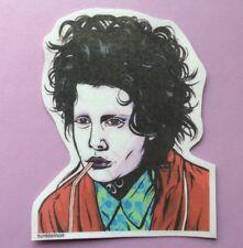 Edward Scissorhands Sticker Pop Art Turddemon Movie Goth Celeb Comic Nostalgia