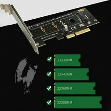 M-Key M.2 NVME/NGFF SSD to PCI Express X4 (X8 X16) Gen3 Adapter Converter Card