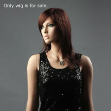 Brown Hair Female Wig 19 Inches Length