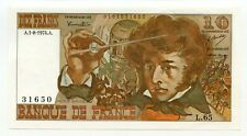 10 Francs, (BERLIOZ) A.1-8-1974.A. - Qualité: NEUF. /747
