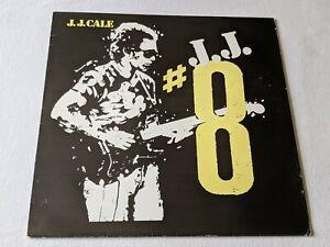 J.J. CALE - #8 (UK 1983 RELEASE - VERY GOOD COPY)