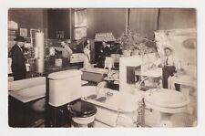 Advertising Real Photo Postcard Bathtubs, Sinks, Pumps And Plumbing Circa 1910