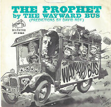 ♫THE WAYWARD BUS The Prophet RCA Victor 9484 P/S PSYCH ROCK 45RPM♫