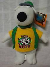 """Family Guy BRIAN THE DOG AS """"THE NUTS"""" POKER PLAYER Plush STUFFED ANIMAL Toy NEW"""