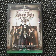 ADDAMS FAMILY VALUES DVD.