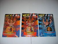 WCW NWO ATOMIC ELBOW  GOLDBERG AXE HANDLE THE GIANT DALLAS PAGE WRESTLING FIGURE