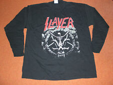 SLAYER  DIVINE INTERVENTION  RARE T-SHIRT  LONG SLEEVE    METALLICA