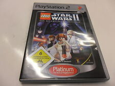 PlayStation 2 PS 2 Lego Star Wars II-la clásica trilogía [Platinum)
