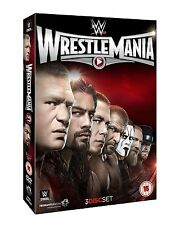 WWE: WRESTLEMANIA 31 Box 3 DVD NEW .cp