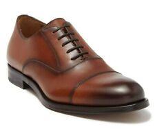 Antonio Maurizi Men's Jack Leather Lace Up Cap Toe Oxford Shoes Size 41, US 8