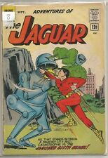 Adventures Of The Jaguar #8 Radio/Archie (1962) Silver Age Comic Fn+/Vf-