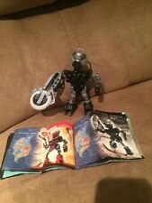 LEGO BIONICLE 8609 TEHUTTI ONU-MATORAN complete figure With Comic  Retired