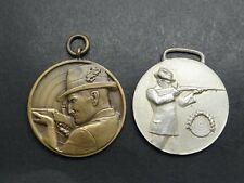 2 Medaillen Silbernes Horn u. K.K. Stadtmeisterschaften 1939  Schützenorden 1218