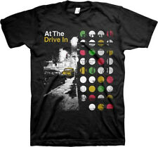 At The Drive-In-Street Scene-Large Black T-shirt