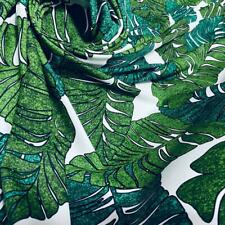 Best hawaii tropical print Nylon Lycra Spandex Fabric 4  Way Strech By Yard