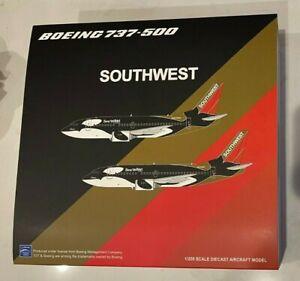 JCWings 1:200 Southwest Shamu 2 Seaworld CA Boeing B737-500 N507SW JC2SWA377 NEW