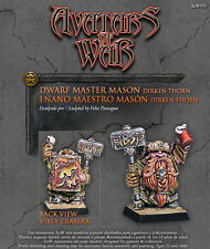 Avatars of War BNIB Enano Maestro Mason aow91