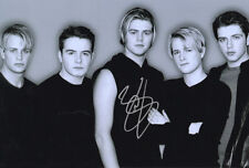 Brian McFadden, Irish singer songwriter, Westlife, signed 12x8 inch photo. COA.