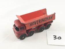 VINTAGE MATCHBOX LESNEY # 17D FODEN TIPPER TRUCK HOVERINGHAM DIECAST 1964-70