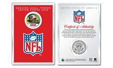 SAN FRANCISCO 49ers NFL Helmet JFK Half Dollar Coin w/ NFL Display Case LICENSED