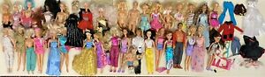 Large Bundle Of Barbie Dolls Fashion Dolls Disney + More Clothes + Accessories