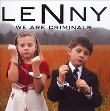 FREE US SHIP. on ANY 2 CDs! NEW CD Lenny: We Are Criminals