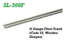 PECO-SL300F-N GAUGE-30YRD WOODEN SLEEPER-FINESCALE-LOOK