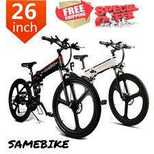 Samebike Bicicleta EléCtrica Plegable De 26 '' Asistida Llanta Combinada N4W3