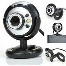 HD 12.0MP 6LED USB Webcam Camera with Mic& Night Vision for Desktop PC Lapt