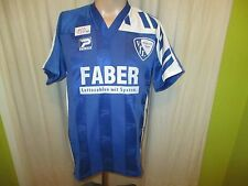 """VfL Bochum Patrick maglia di casa 1992/93 """"Faber lotto numeri con sistema"""" Taglia M Nuovo"""