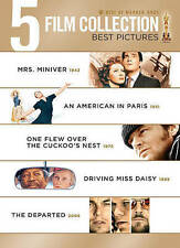 5 Film Collection: Best Pictures (DVD, 2013, 5-Disc Set) Ships in 12 hours!!!
