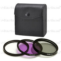 52mm Filter Kit  UV+ FLD+CPL F/ Canon 80-200 50 1.8