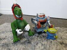 Disney Pixar Toy Story Rex , Robot and Alien