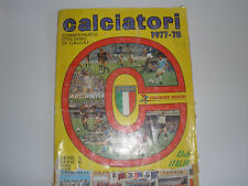 MANCOLISTE FIGURINE PANINI -CALCIATORI 1977-78- REC.- REMOVED FROM AN ALBUM