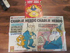 Charlie Hebdo 1176 + 1177 Neuf album collector last one before Terrorist attack