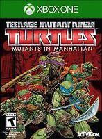 NEW Teenage Mutant Ninja Turtles Mutants in Manhattan (Microsoft Xbox One, 2016)