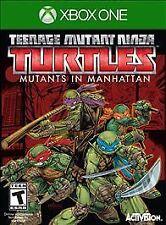 Teenage Mutant Ninja Turtles: Mutants in Manhattan (Microsoft Xbox One, 2016)