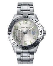 VICEROY MEN'S 40389-05 ROUND LUMINOUS DATE QUARTZ WATCH, MINERAL GLASS.BRAND NEW