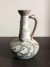 Vase pichet en céramique émaillée aspect lave signé Poterie du Breuil Bruno