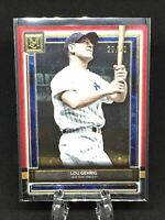 2020 Topps Museum Collection Lou Gehrig Ruby #20/50 New York Yankees