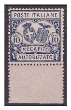 REGNO 1928 - RECAPITO AUTORIZZATO   N 2  NUOVO **