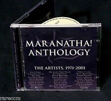 Maranatha Anthology 1971-2001 2 CD Set DANIEL AMOS BOB BENNETT RICHIE FURAY
