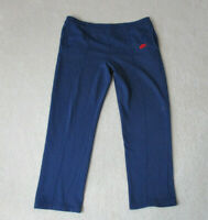 VINTAGE Nike Sweat Pants Adult Large Blue Red Spell Out Swoosh Blue Tag Mens 80s