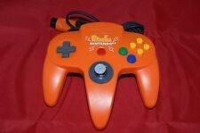 Nintendo 64 N64 Pikachu Orange Yellow Controller Pokemon