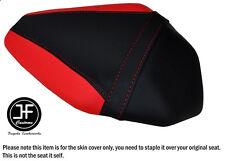 Dsgn 2 Negro Rojo Vinilo Personalizado Para Kawasaki Ninja ZX10R 1000 16-17 Funda de Asiento Trasero