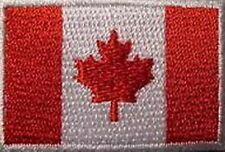 Canada Flag iron on/sew on cloth patch    (nz)