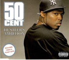 50 CENT Hustler's Ambition   2 TRACK CD      NEW - NOT SEALED