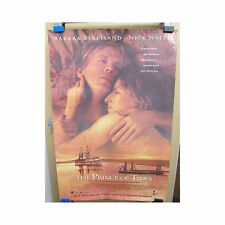 PRINCE OF TIDES Original Home Video Poster Streisand