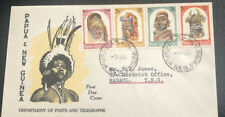 Papua New Guinea FDC 1964 Department Of Posts & Telegraphs
