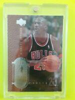 1999-2000 Upper Deck Michael Jordan NBA Legends Promo #1 Sample Chicago Bulls